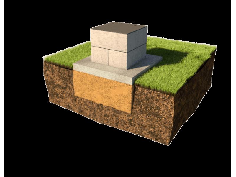 Опорно-столбчатый фундамент