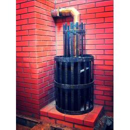 Банная печь с отоплением