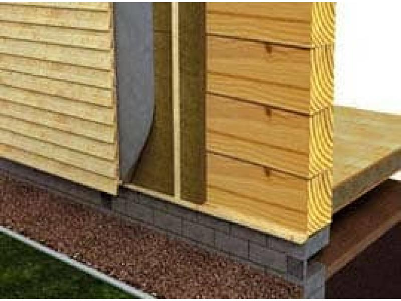 Как утеплять брусовый дом изнутри или снаружи?