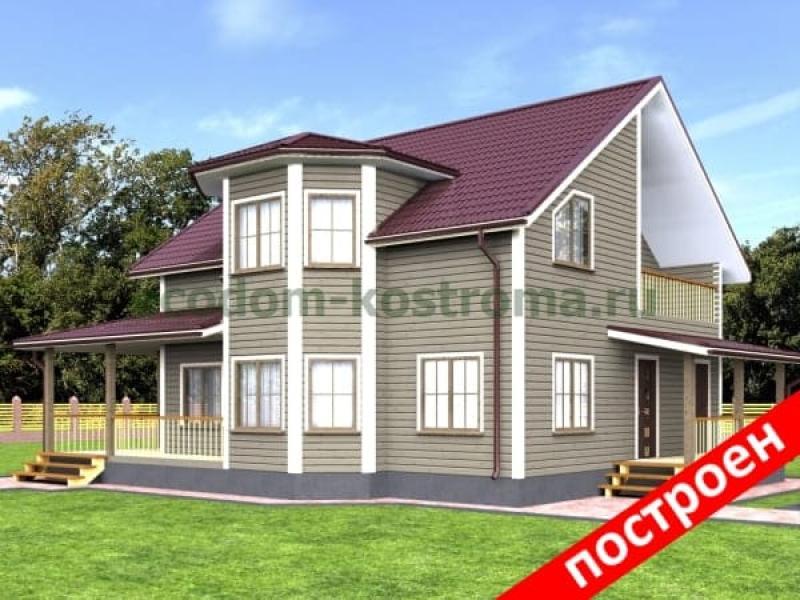 Загородный дом из бруса: основные этапы строительства