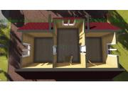 Каркасный дом под ключ ДК-10