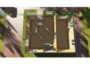 Каркасный дом под ключ ДК-11