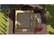 Каркасный дом под ключ ДК-14
