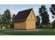 Дом-баня из бруса 6х6 ДБ-151