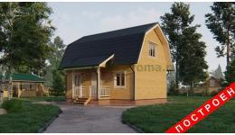 """Дом из бруса """"Демидово"""" ДБ-158"""