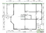 Каркасный дом под ключ ДК-19