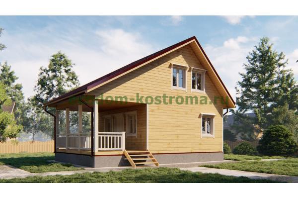 Дом из бруса ДБ-193