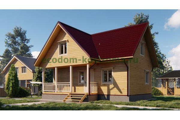 Дом из бруса ДБ-194