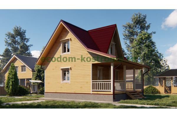 Дом из бруса ДБ-195