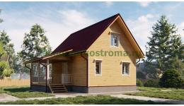 Дом из бруса ДБ-196