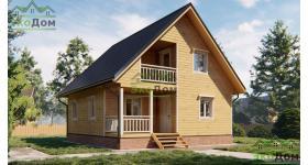 Дом из бруса ДБ-199