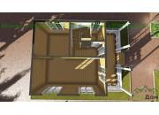 Каркасный дом под ключ ДК-20