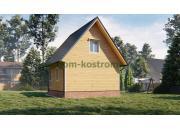 Дом из бруса ДБ-204