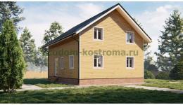 Дом из бруса ДБ-214