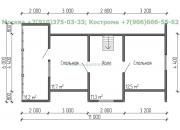 Каркасный дом под ключ ДК-28