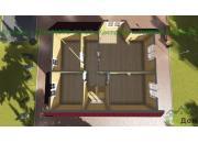 Каркасный дом под ключ ДК-4