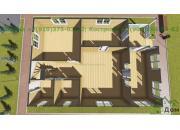 Каркасный дом под ключ ДК-48