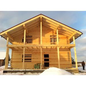 Дом из профилированного бруса Сергиево-Посадский р-он, Московская область, д. Шелково