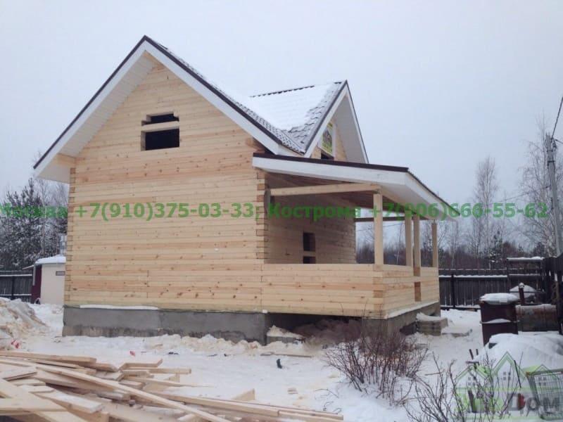 Дом из бруса Московская область, г. Электрогорск