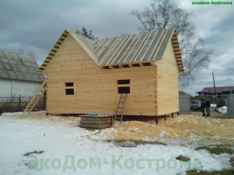 Дом из бруса Истра Московская область