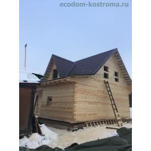 Дом из профилированного бруса в Костромской области город Волгореченск