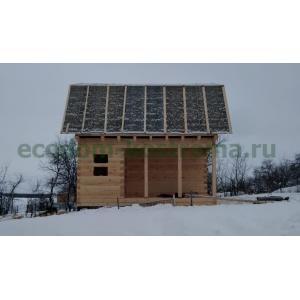 Дом из профилированного бруса 145х145мм Солнечногорский район МО январь 2021