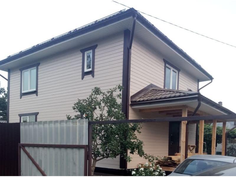 Дом из профилированного бруса в Московской области г. Егорьевск