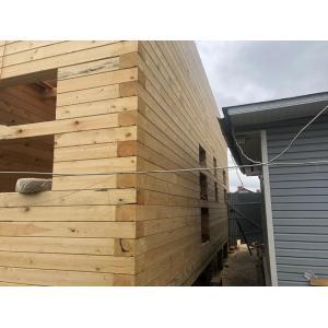 Дом из профилированного бруса камерной сушки в Ивановской области октябрь 2020