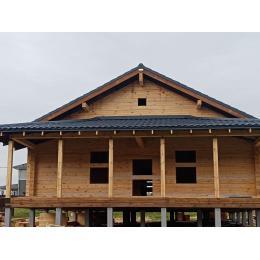 Дом из профилированного бруса 200х200 мм МО Софрино октябрь 2020