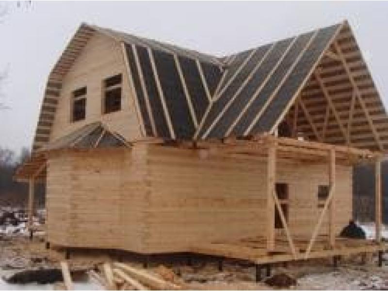 Дом из профилированного бруса в Чехове