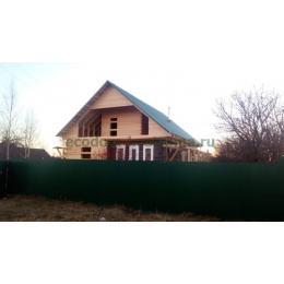 Пристройка к дому из профилированного бруса 145х190 в Ивановской области