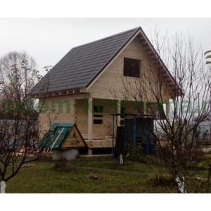 Дом из профилированного бруса в Чеховском районе МО ноябрь 2019