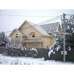 Дом из костромского бруса 150х200 с.Толстопальцево