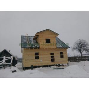 Дом из профилированного бруса 145х195 в Павлово-Посадском районе М.О.