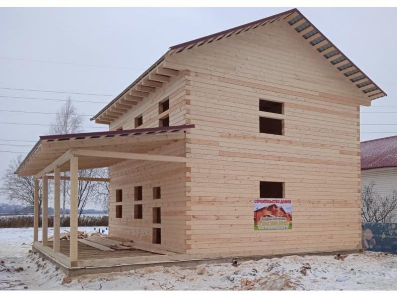 Дом из профилированного бруса в Дмитровском районе Московской области