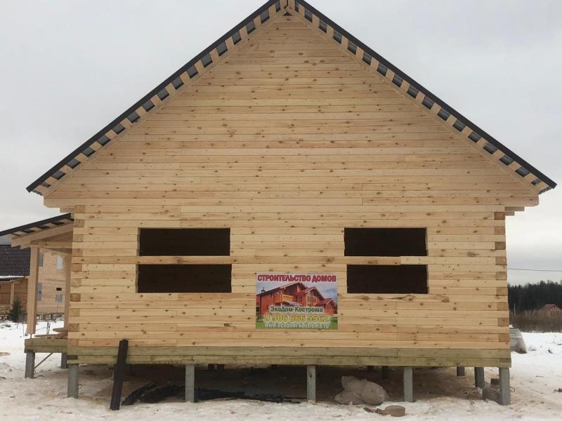 Дом из профилированного бруса в Ивановской области