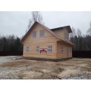 Дом из профилированного бруса в Орловской области декабрь 2020