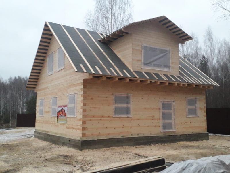 Дом из профилированного бруса в Орловской области