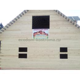 Дом из бруса под усадку 150х150 в Смоленской области
