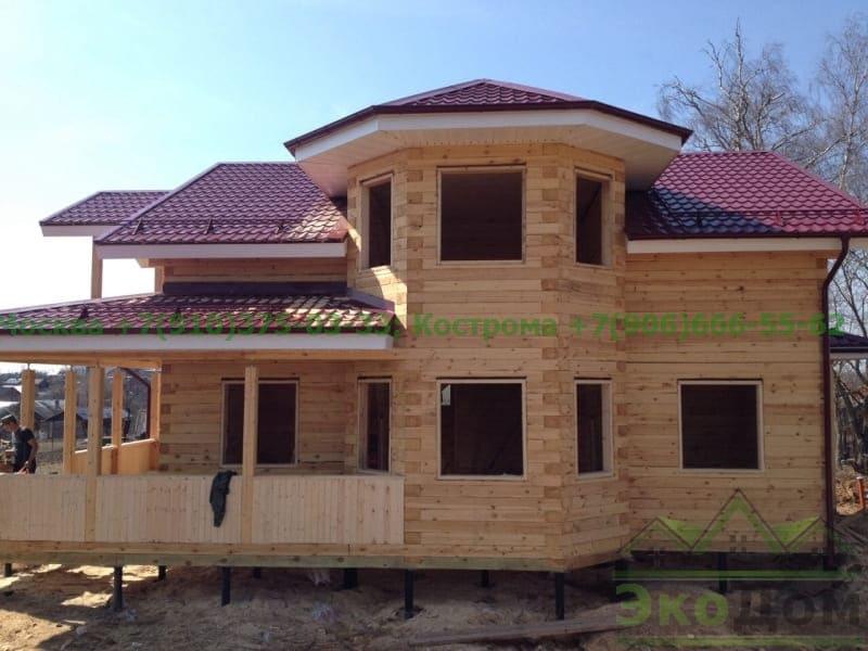 Дом из бруса Истринский р-он Московская область, село Рождествено