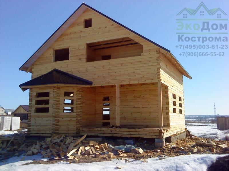 Дом из бруса г. Переславль-Залесский Ярославская область