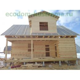 Дом из профилированного бруса в Сергиевом-Посаде