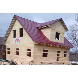 Дом из бруса 150х150 в Тверской области Торжокский район