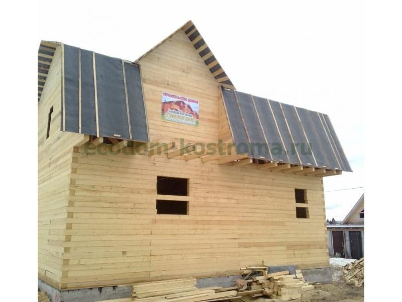 Дом из бруса 150х150мм в Вологодской области Череповецкий район