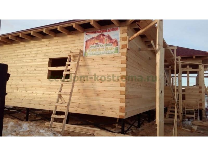 Дом из профилированного бруса 145х190 в Воронежской области