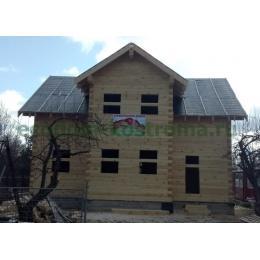 Дом из профилированного бруса Волоколамск Московская область март 2020