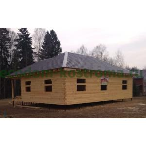 Дом из бруса в Клинском районе Московской области март 2020