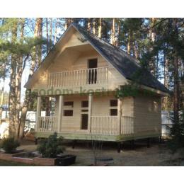 Дом из профилированного бруса в Ногинске Московской области март 2020
