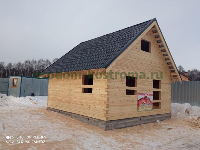 Дом из профилированного бруса в Балашихе март 2021