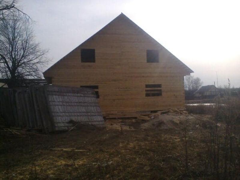 Дом из бруса Тверская область Калининский р-он село Пушкино
